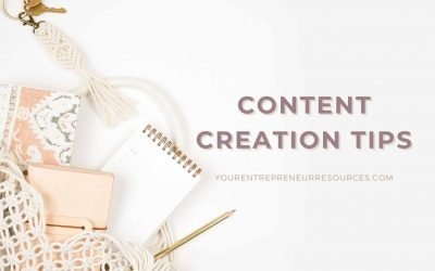 10 Content Creation Tips to help you create more quality content in less time
