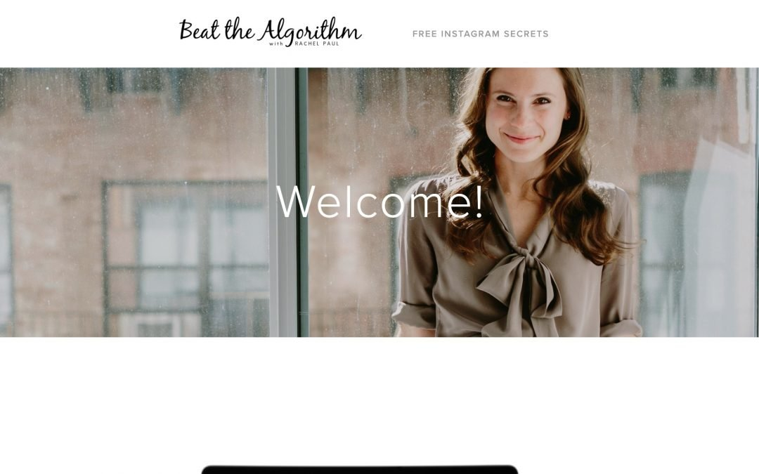 Beat the Algorithm by Rachel Paul
