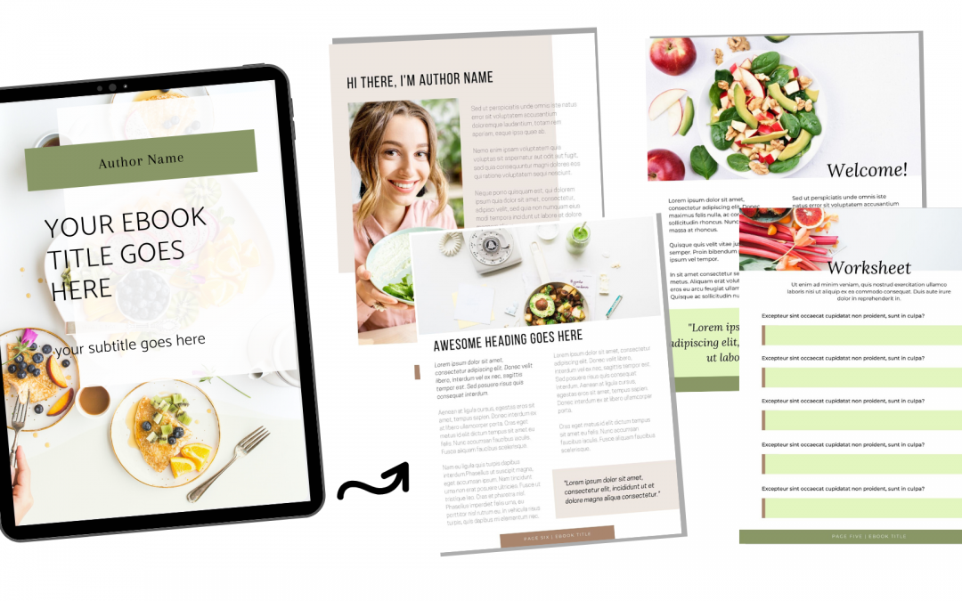 Free Canva eBook Design by TheSheApproach
