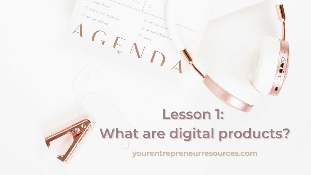 Digital products are classified as anything that contains information which is compiled in a way that is meant to inform, teach or entertain the consumer. The most common types come in the form of articles, reports, ebooks, videos as well as websites, graphic packages, audio files and more.