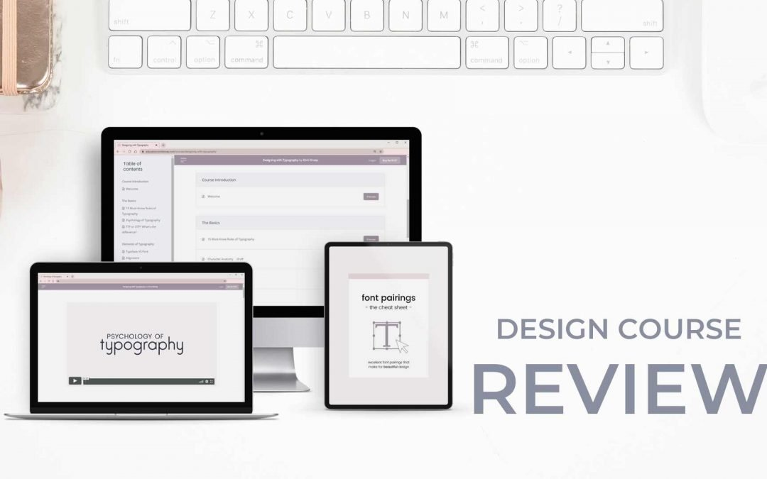 Designing with Typography review: Typography Course By Kimi Kinsey