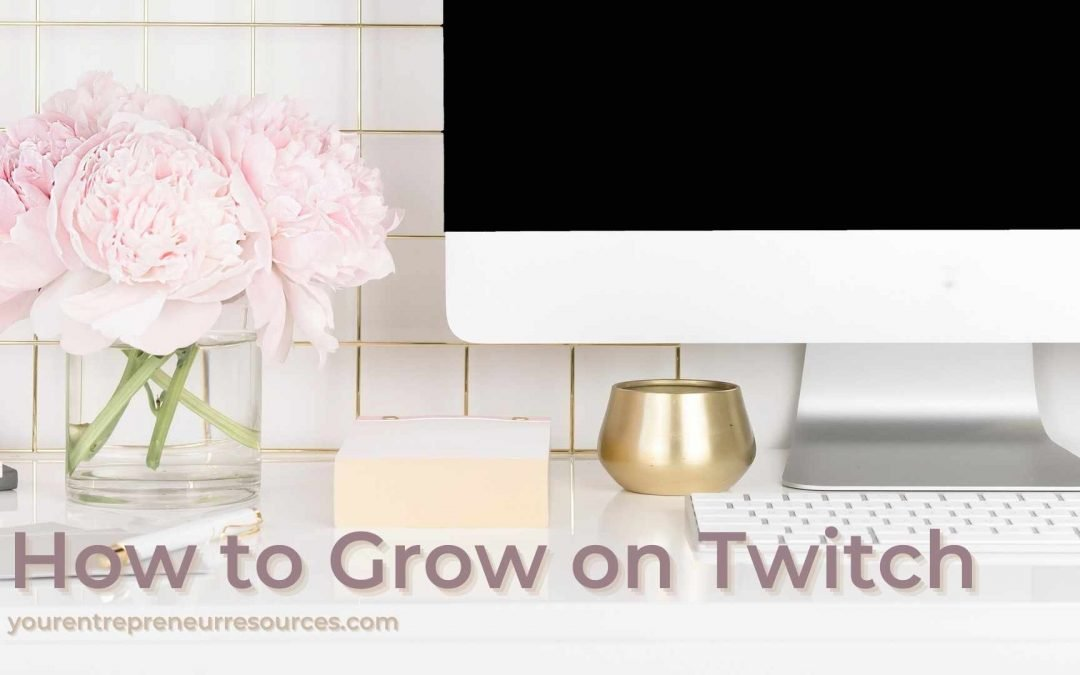How to Grow on Twitch – 5 Tips for live-streaming and grow twitch channel