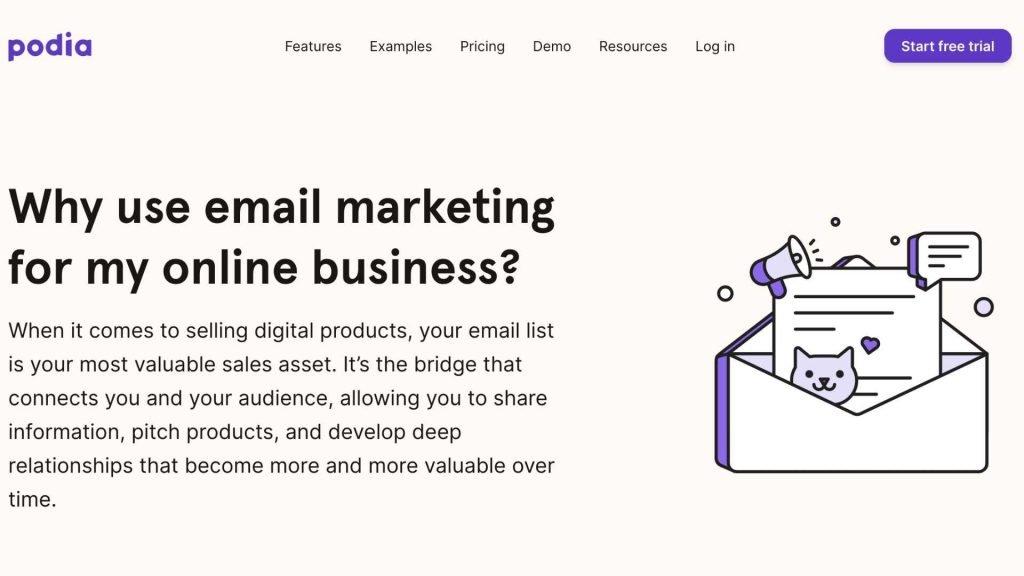 Podia Email Marketing