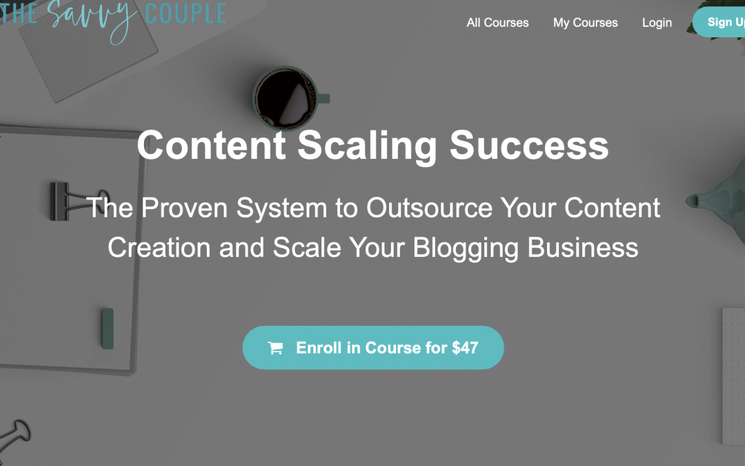 Content Scaling Success by the Savvy Couple
