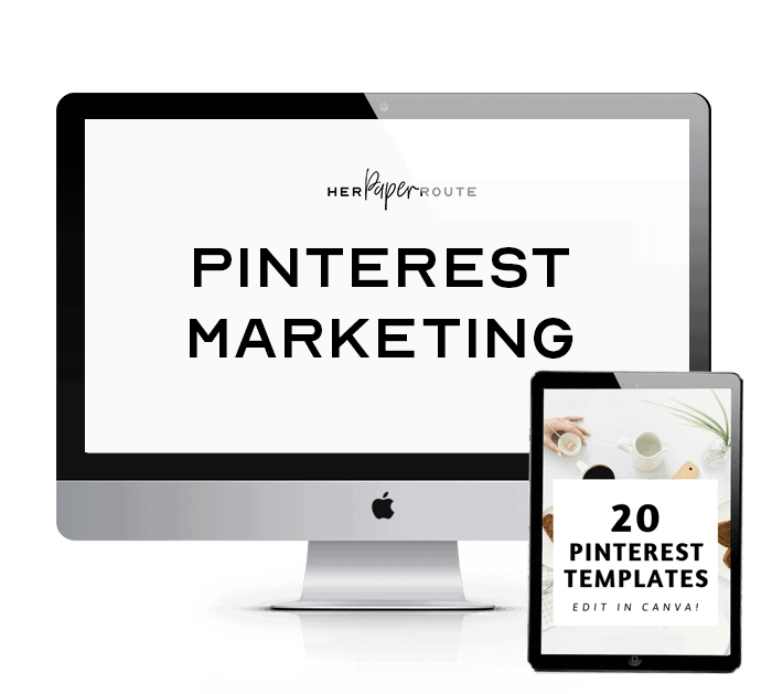 Pinterest Marketing Course by HerPaperRoute