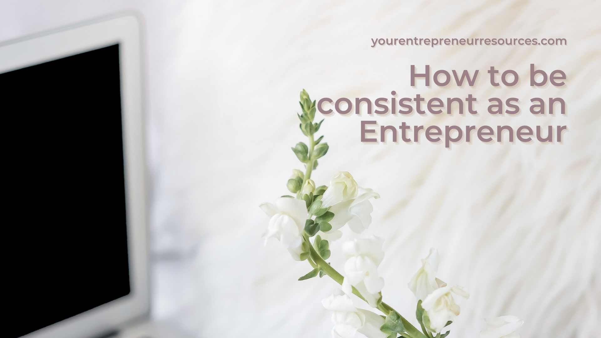 How to be consistent as an Entrepreneur 7 tips to make more money online