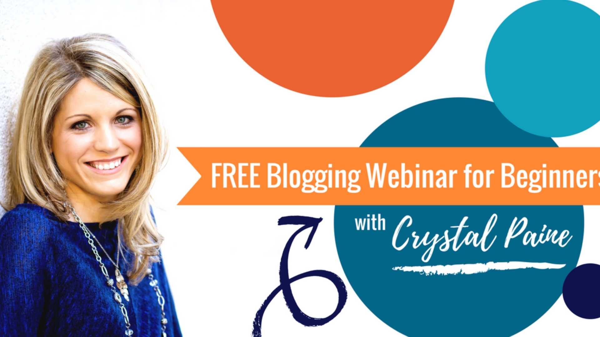 3 Steps to Start that Blog You've Been Dreaming Of (Evergreen Webinar)