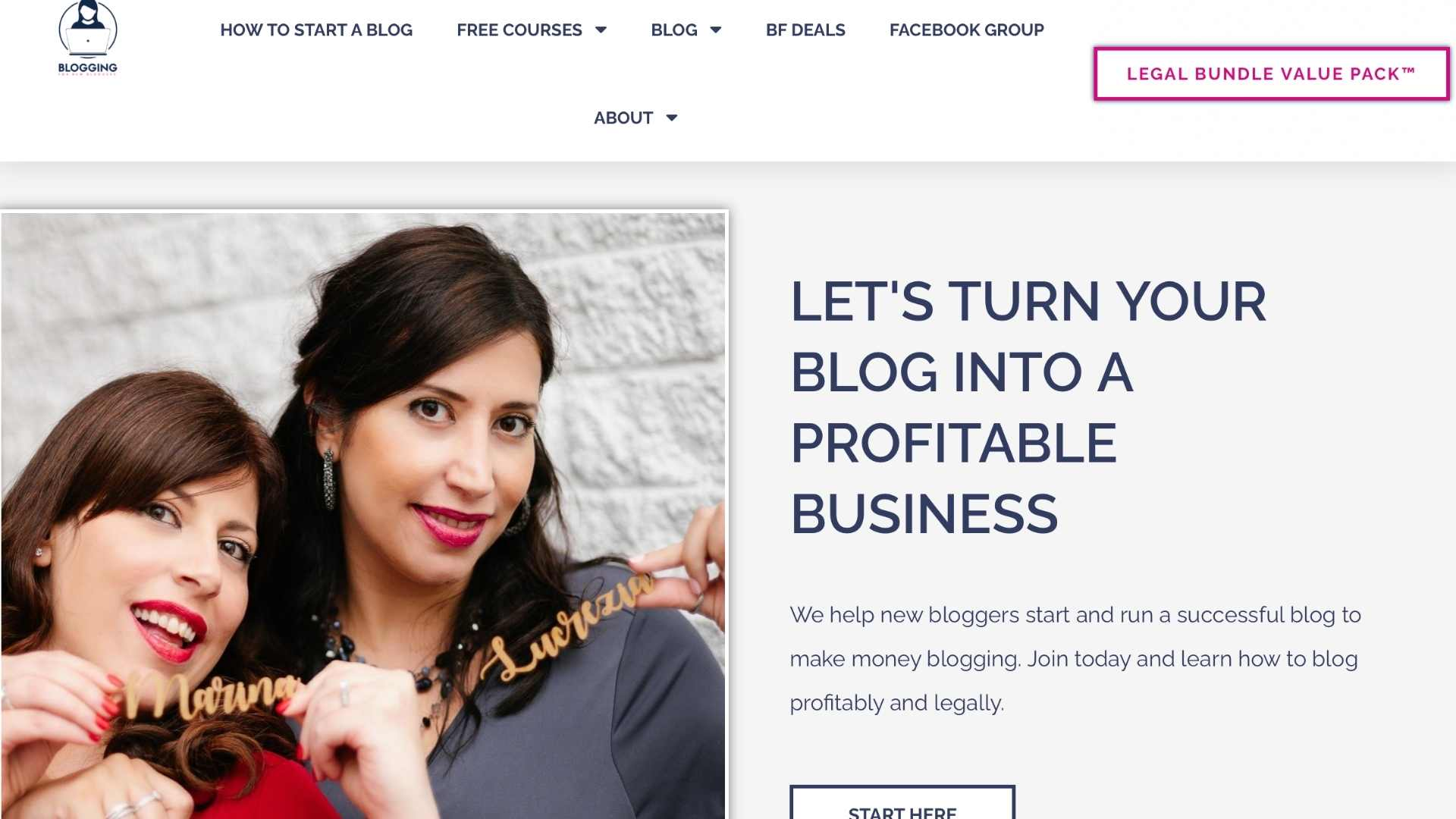 Blogging for new bloggers website
