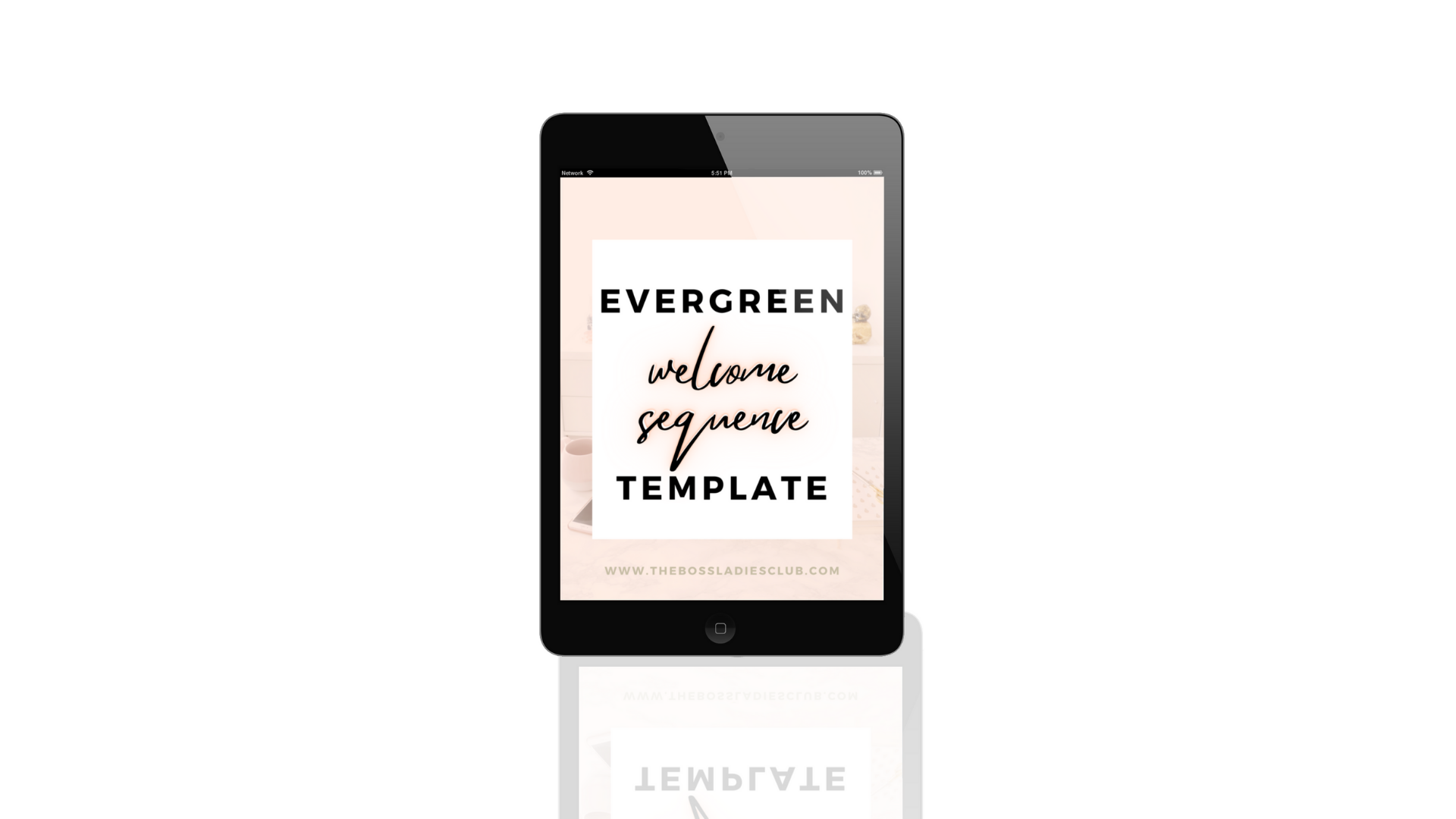 Evergreen welcome sequence template
