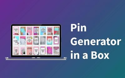Pin Generator in a Box