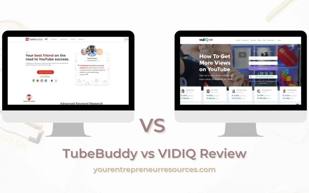 TubeBuddy vs VIDIQ Review: Which Tool is Best for Expanding your YouTube Reach?