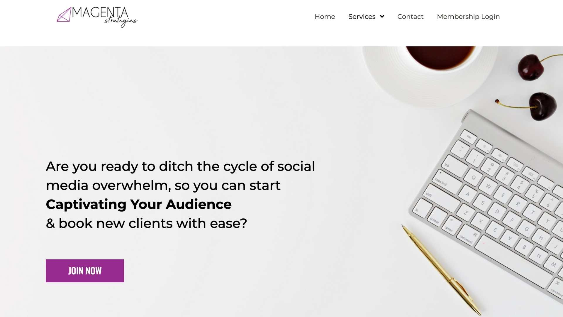 Captivating your audience by Lindsey White from Magenta Strategies