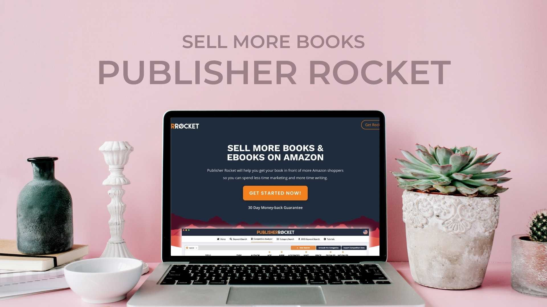 Publisher Rocket Rank number 1 on Amazon & become a Bestselling Author review