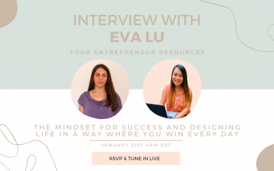 The mindset for success and designing life in a way where you win every day with Eva Lu