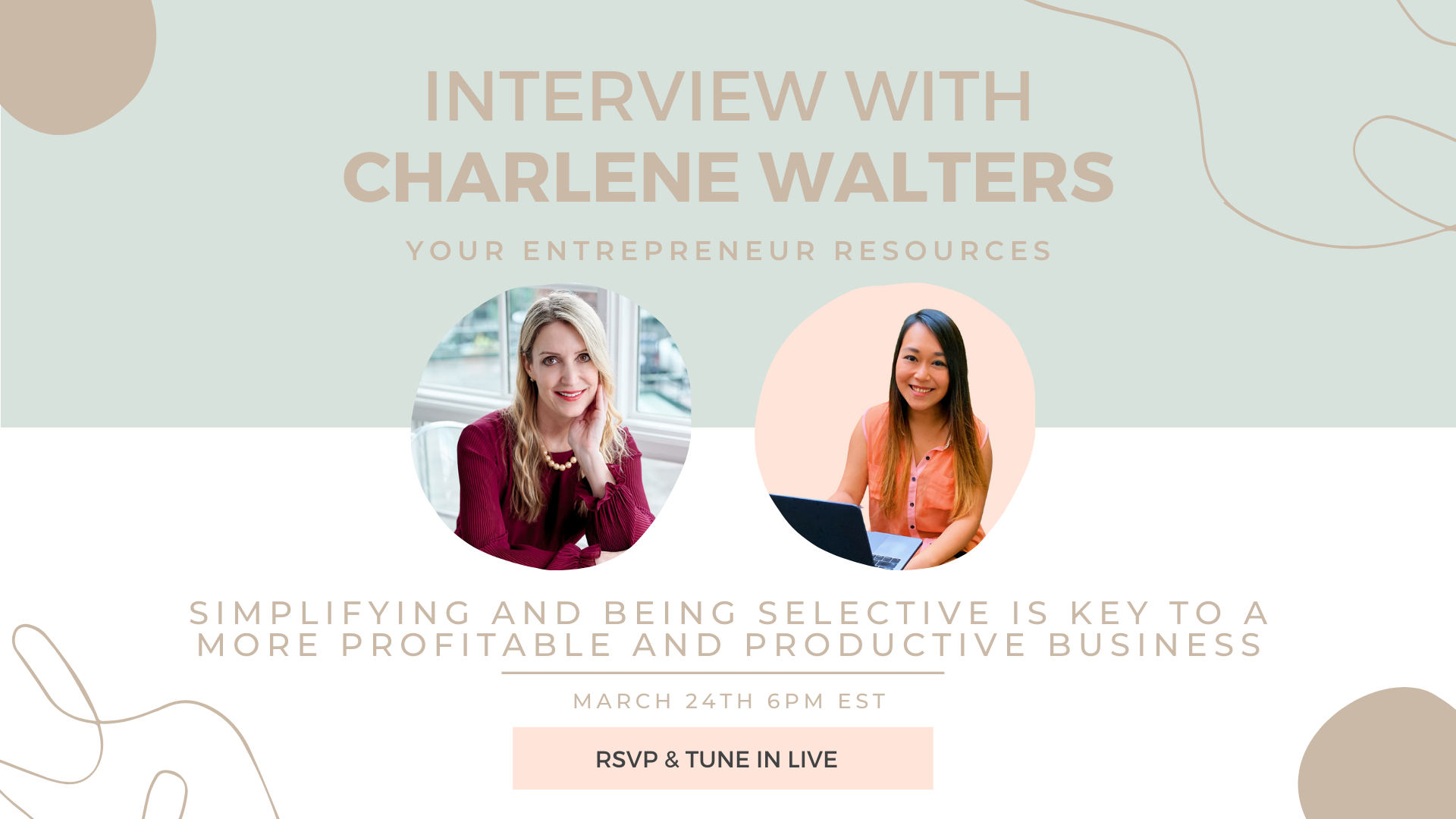 Develop an Entrepreneurial Mindset with Charlene Walters