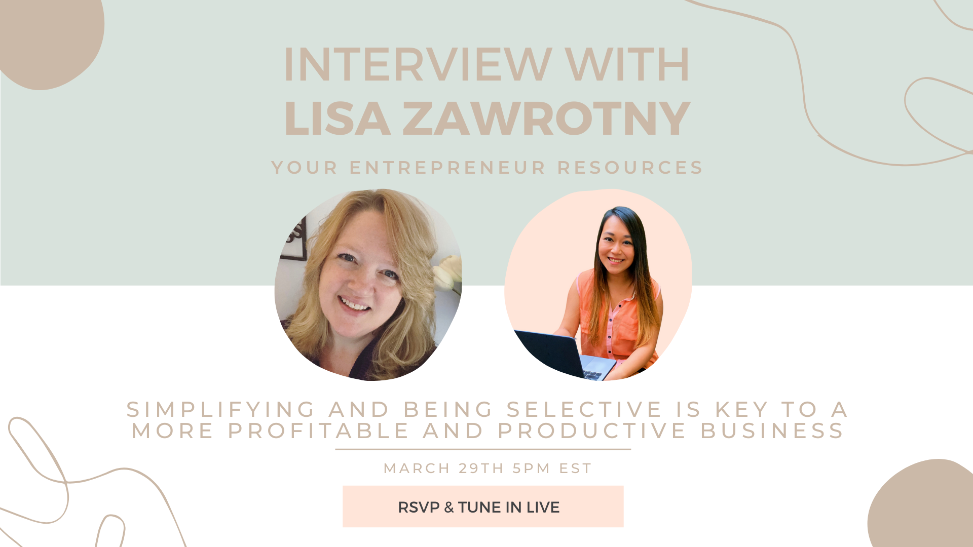 Simplifying and being Selective is Key to a More Profitable and productive business with Lisa Z.