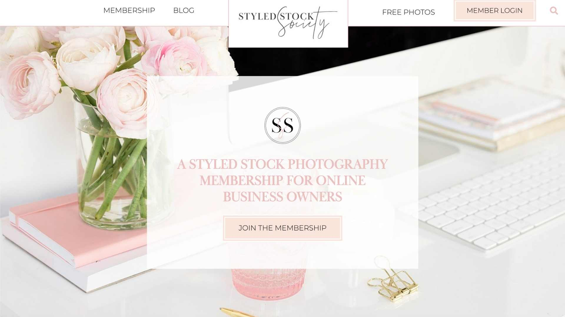 Style Stock Society homepage