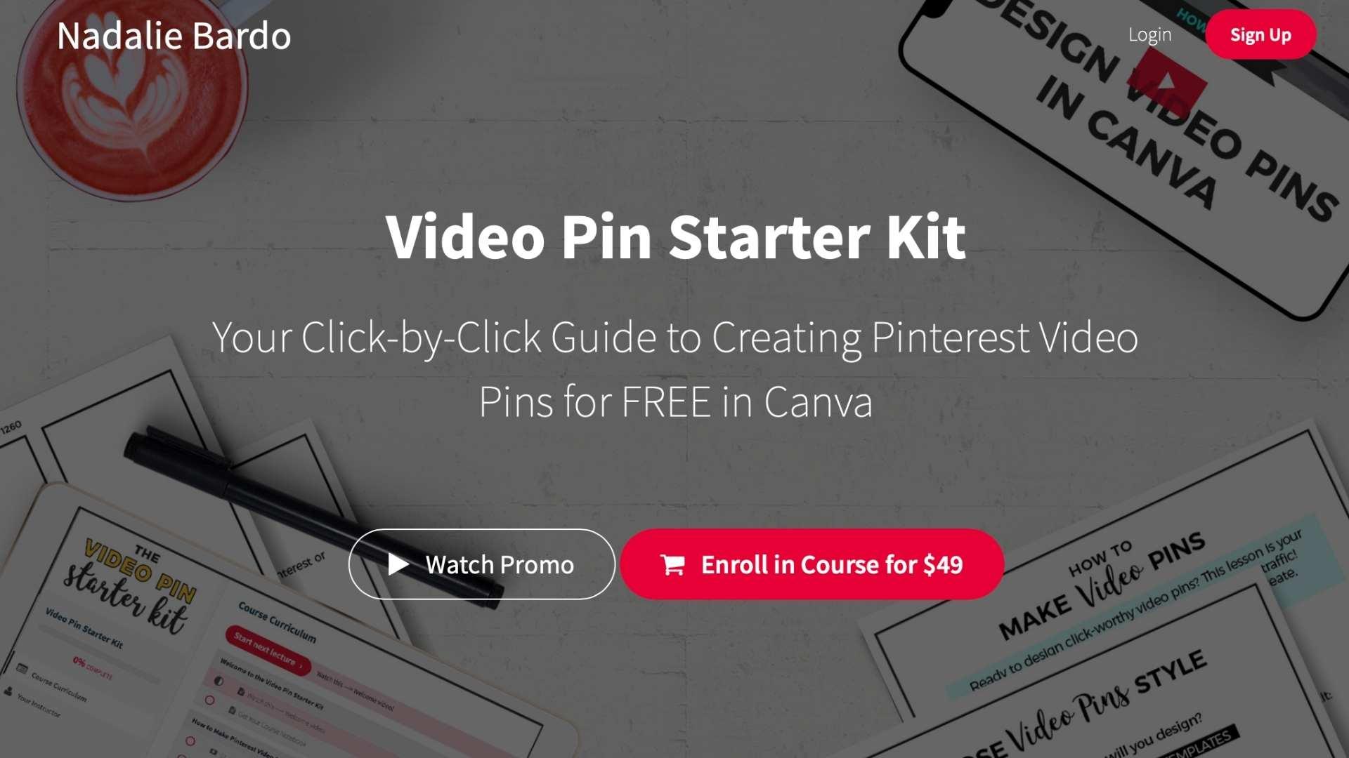 The Video Pin Starter Kit