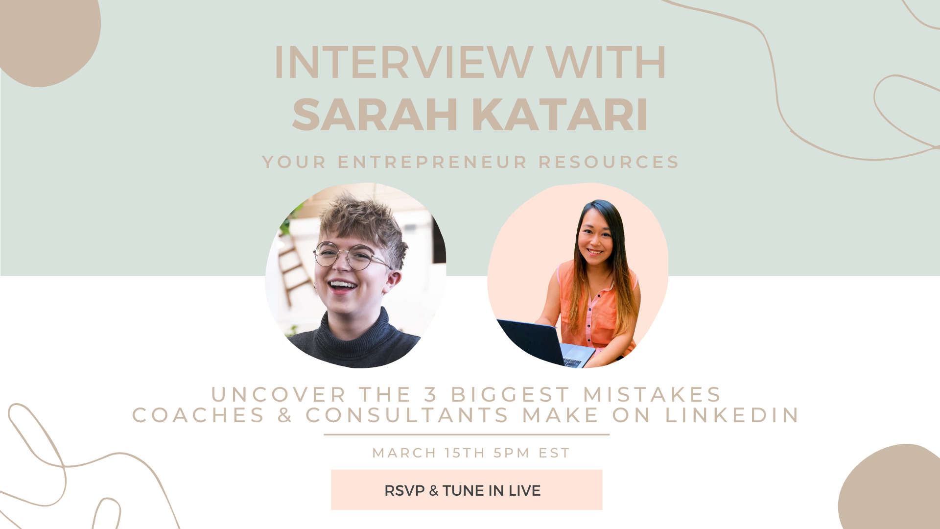 Uncover the 3 Biggest Mistakes Coaches & Consultants make on LinkedIn with Sarah Katari