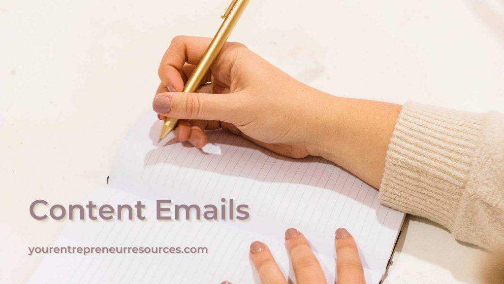 Content Emails