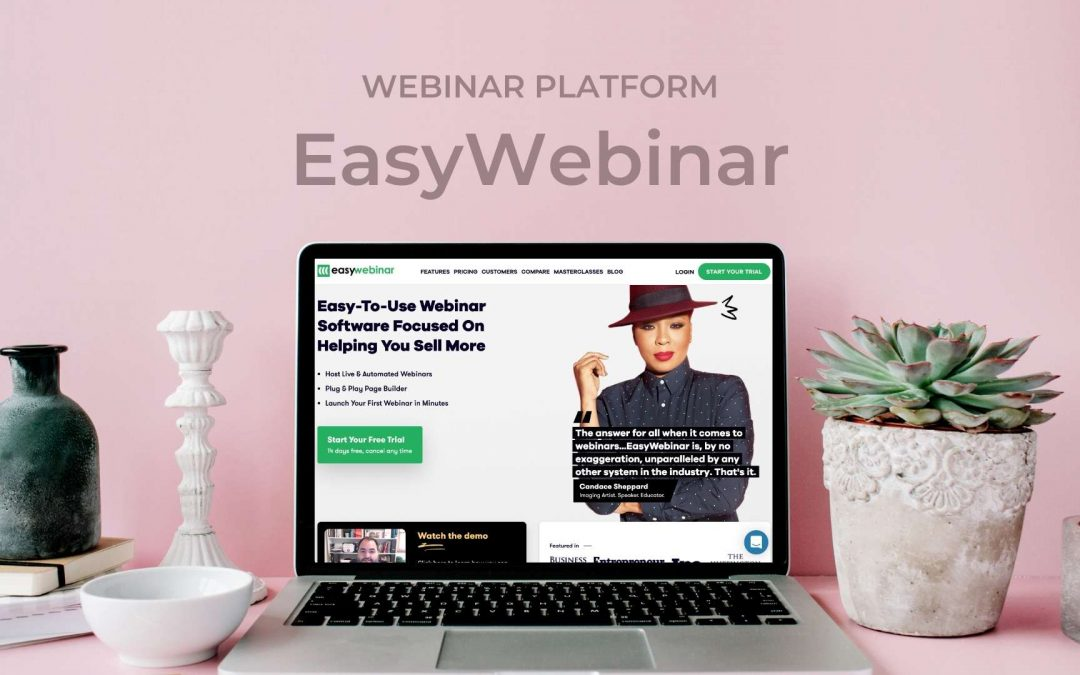 EasyWebinar Review: What is the best platform to host webinars for your business