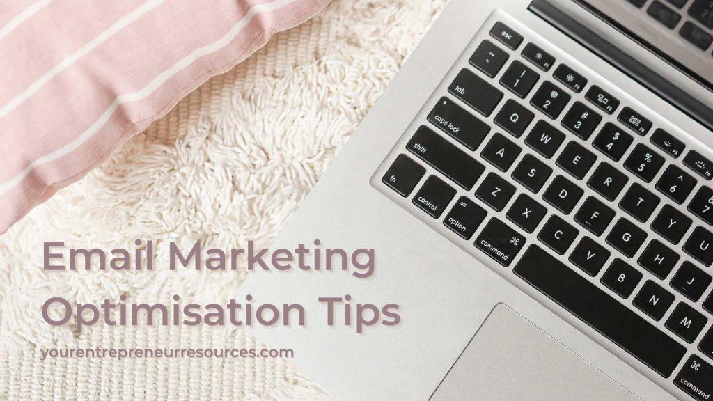 Email Marketing optimisation