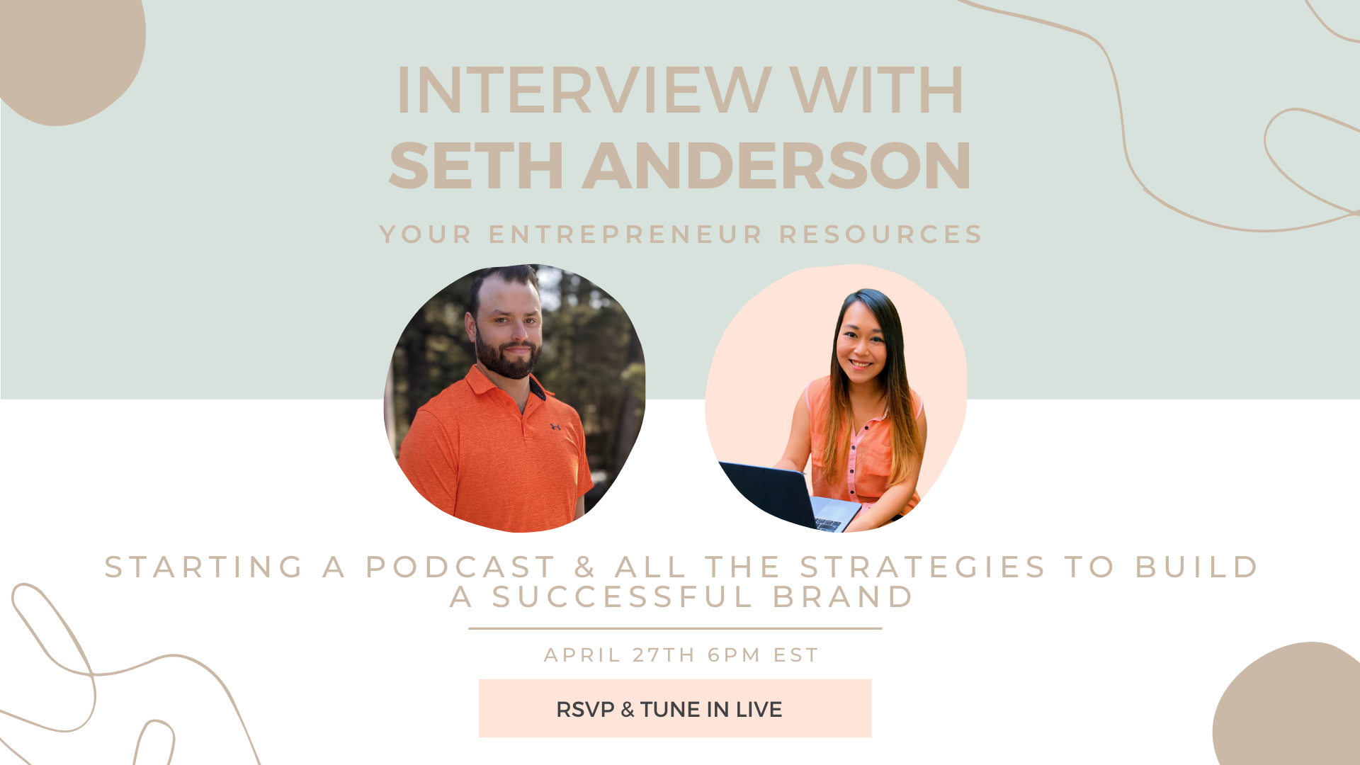 Starting a podcast & all the strategies to build a successful brand with Seth Anderson