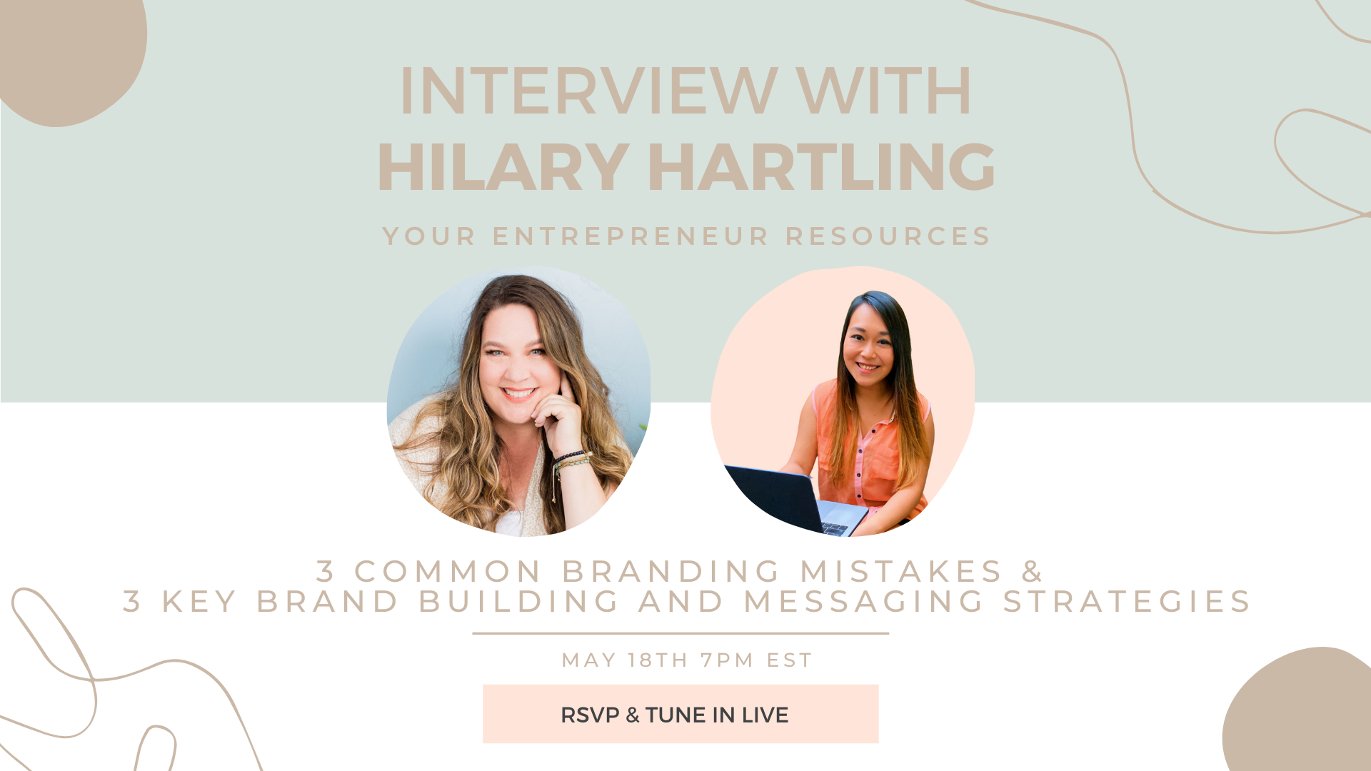 3 common branding mistakes & 3 key brand building and messaging strategies with Hilary Hartling